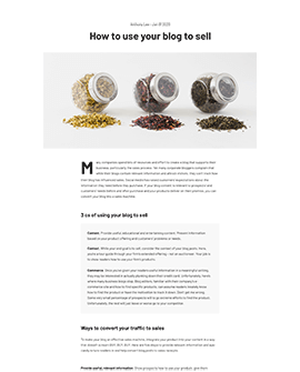Cipi - Shopify blog page template