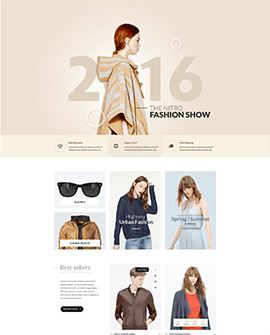 Haute Couture - Fashion Shopify page template