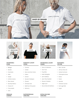 List Collection Shopify page template