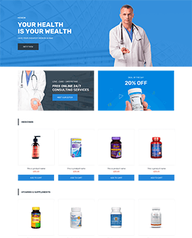 Health beauty Shopify collection page template