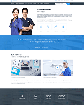 Health beauty Shopify homepage template